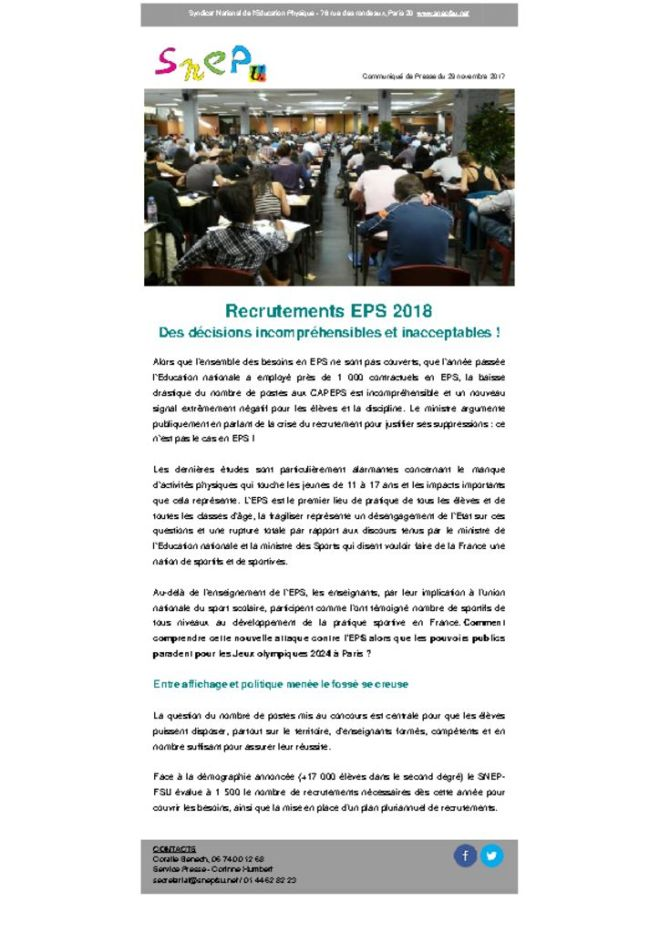 thumbnail of Communiqué-de-presse-SNEP-FSU-_-Recrutement-ESP-des-décisions-incompréhensibles-et-inacceptables