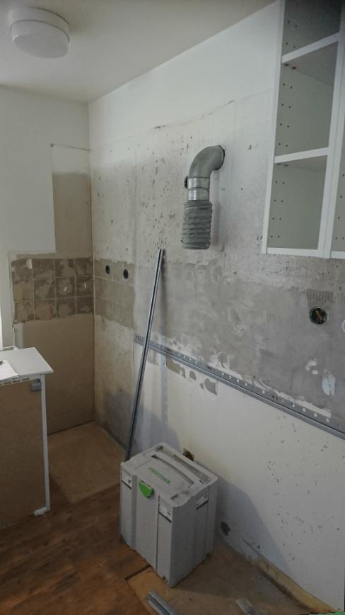 Vi renoverar kök