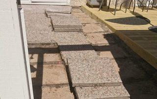 Snickare i Norrtälje utför också mindre stenläggningar