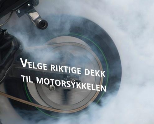 dekk til motorsykkelen