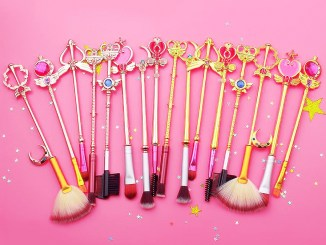 themed makeup brushes