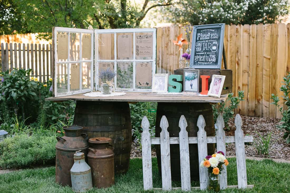 DIY Backyard BBQ Wedding Reception on Diy Bbq Patio id=18117