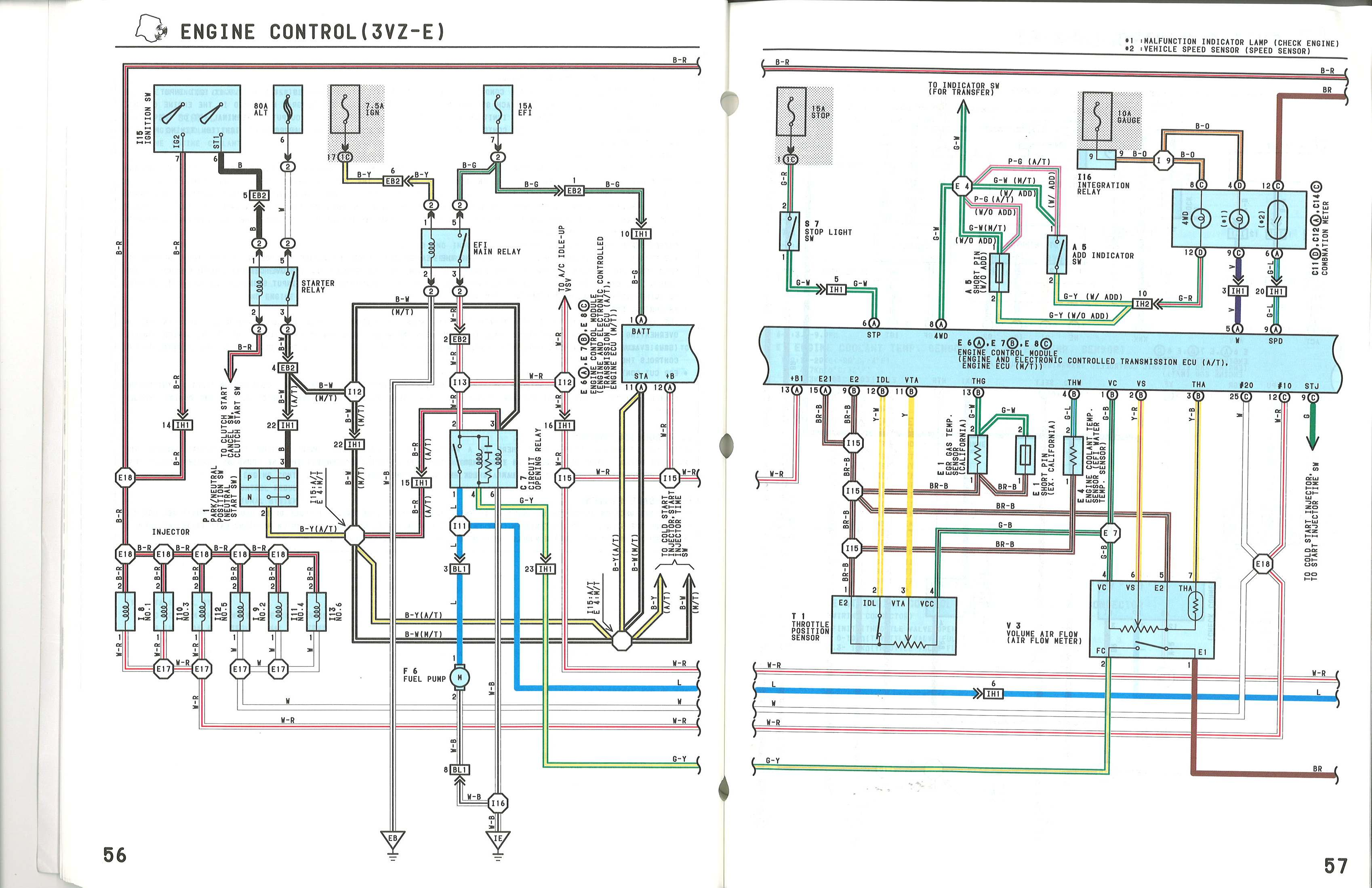 Engine_Control_3vze_2?resized665%2C430 1986 toyota pickup wiring diagram efcaviation com 1986 toyota pickup wiring diagram at nearapp.co