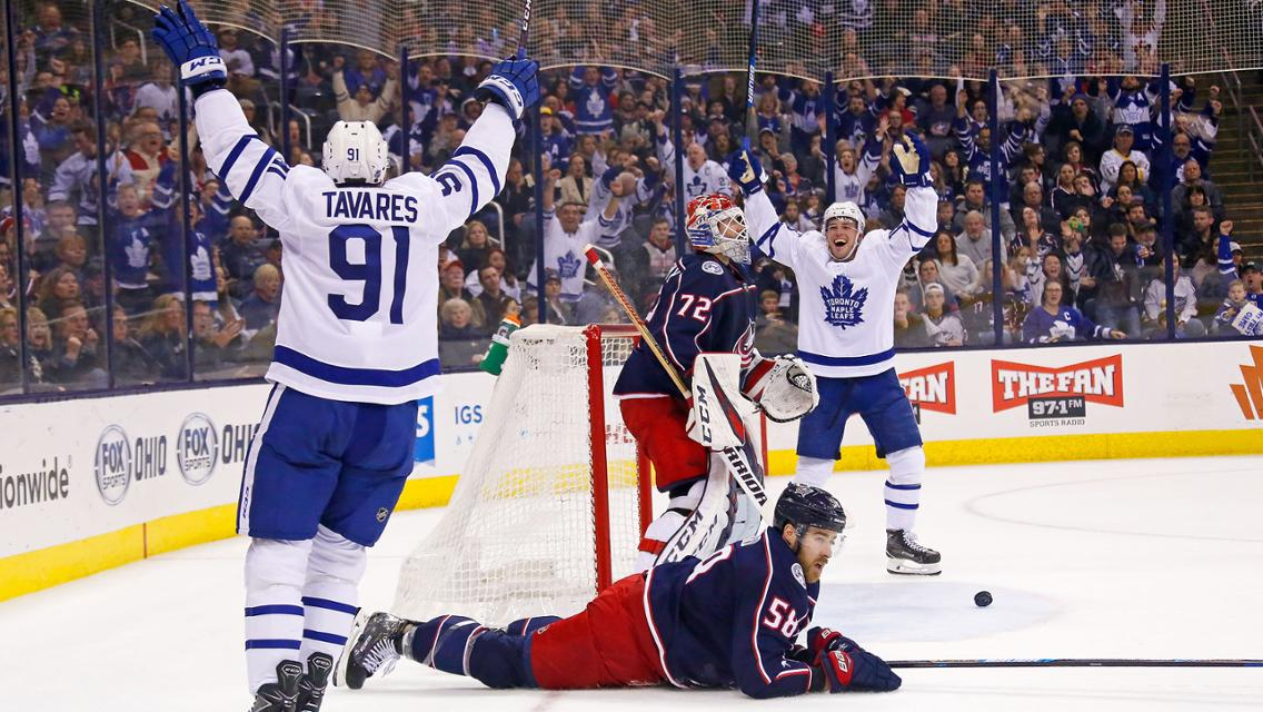 Leafs vs Blue Jackets