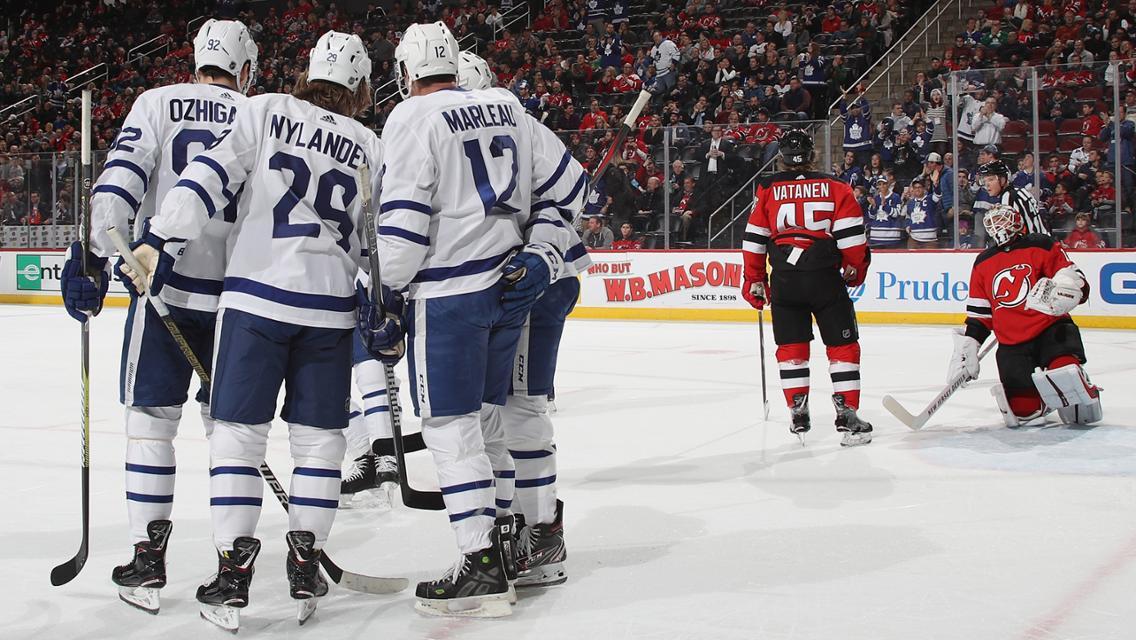 Maple Leafs vs Devils