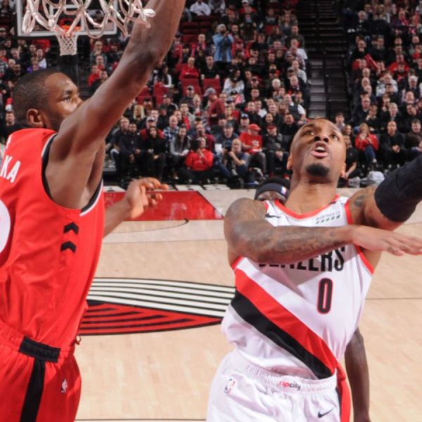 Raptors vs Trail Blazers