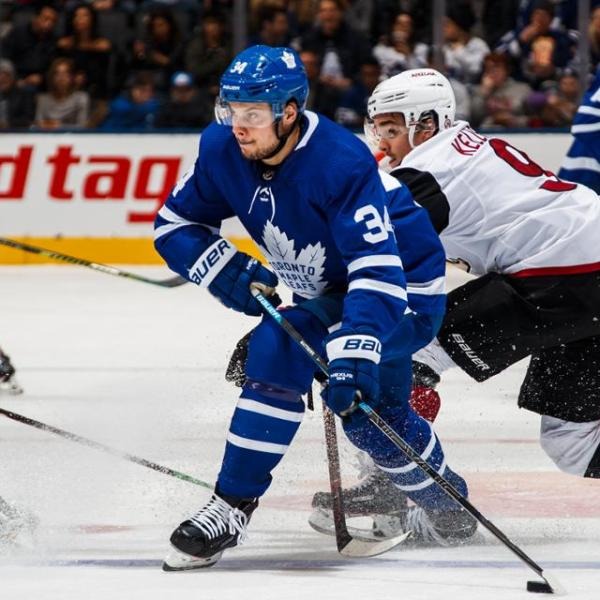 Coyotes vs Leafs