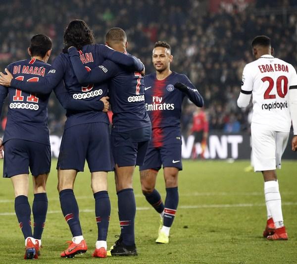 PSG vs Guingamp