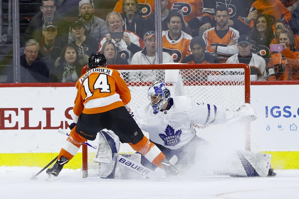 Leafs vs Flyers