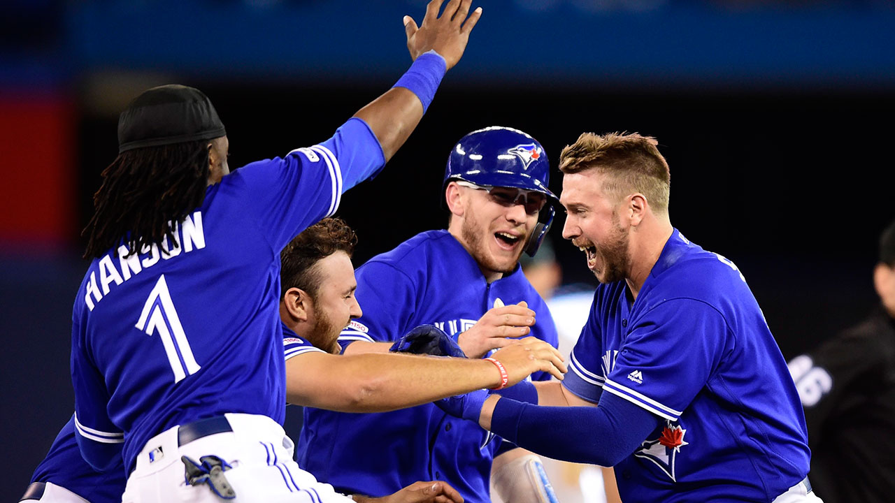 Blue Jays Athletics Win
