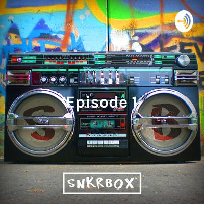 Transister Radio with Snkrbox Logo