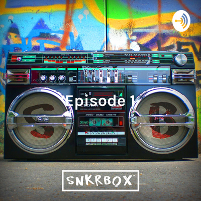 Transister Radio with Snkrbox Logo