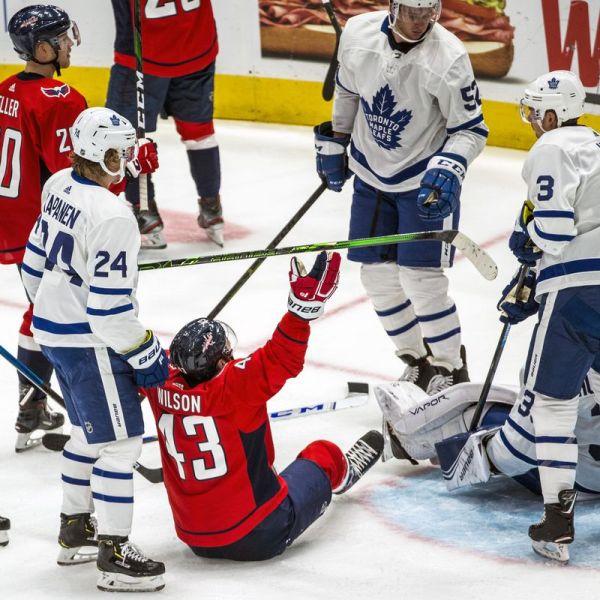 Leafs vs Washington