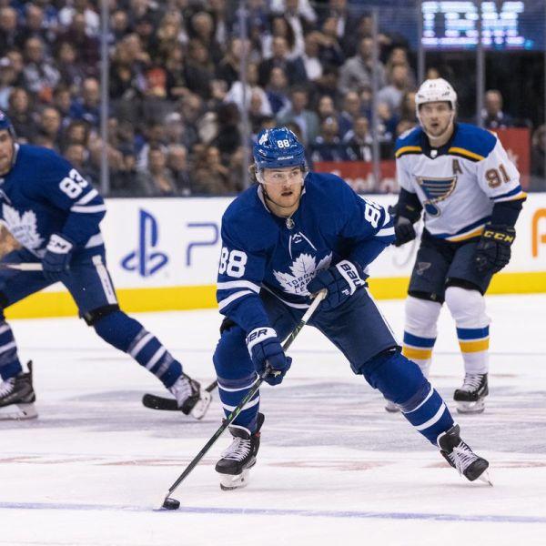 Maple Leafs vs Blues