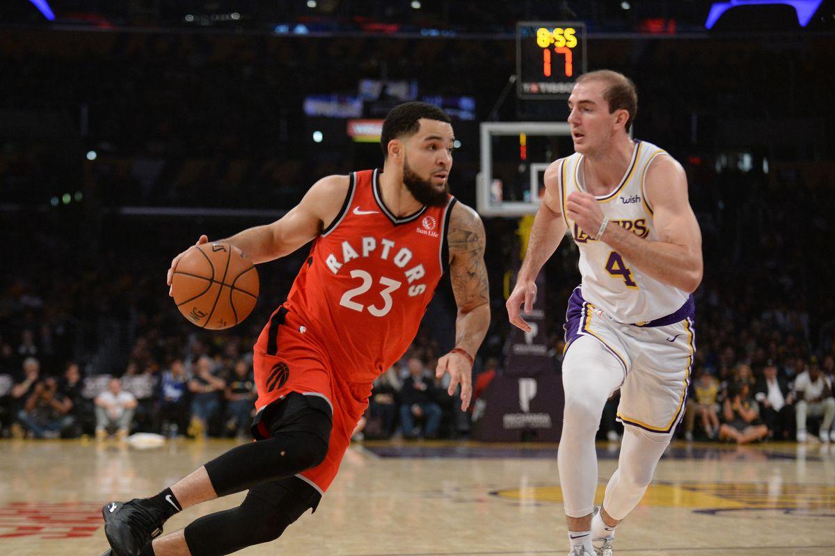 Raptors vs Lakers