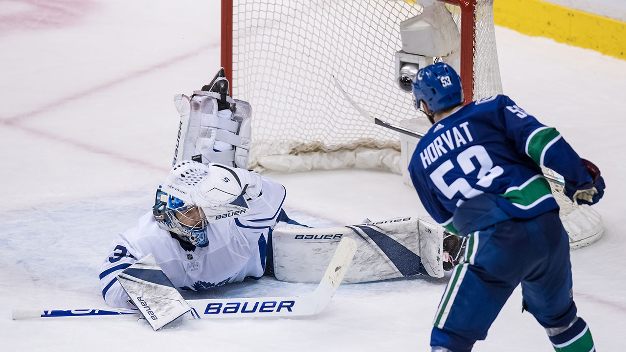 Maple Leafs vs Canucks