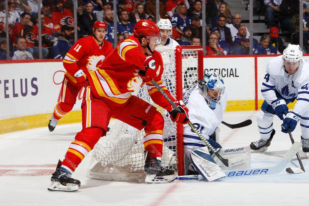 Maple Leafs vs Flames