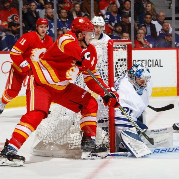 Maple Leafs vs Flames