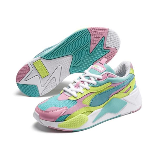 Puma RS-X3 Plastic Sneakers Gulf Stream - Sunny Lime