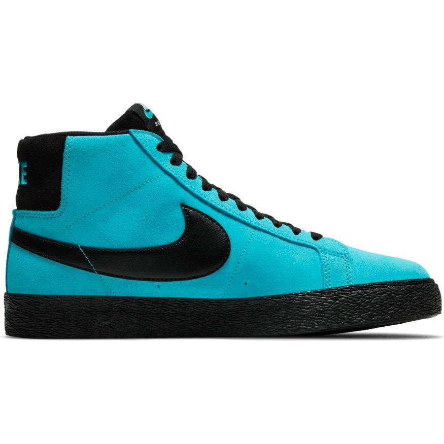 Nike SB Zoom Blazer Mid - Baltic Blue/Black Baltic Blue