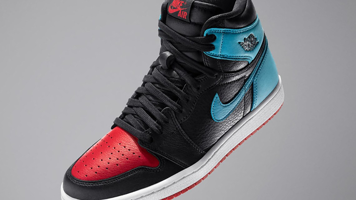 The Jordan 1s were once banned by NBA.