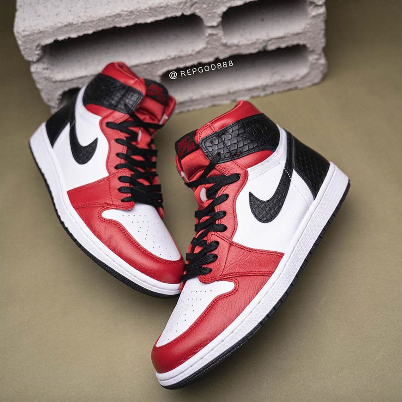 "Nike Air Jordan 1 High OG ""Satin Snake"""