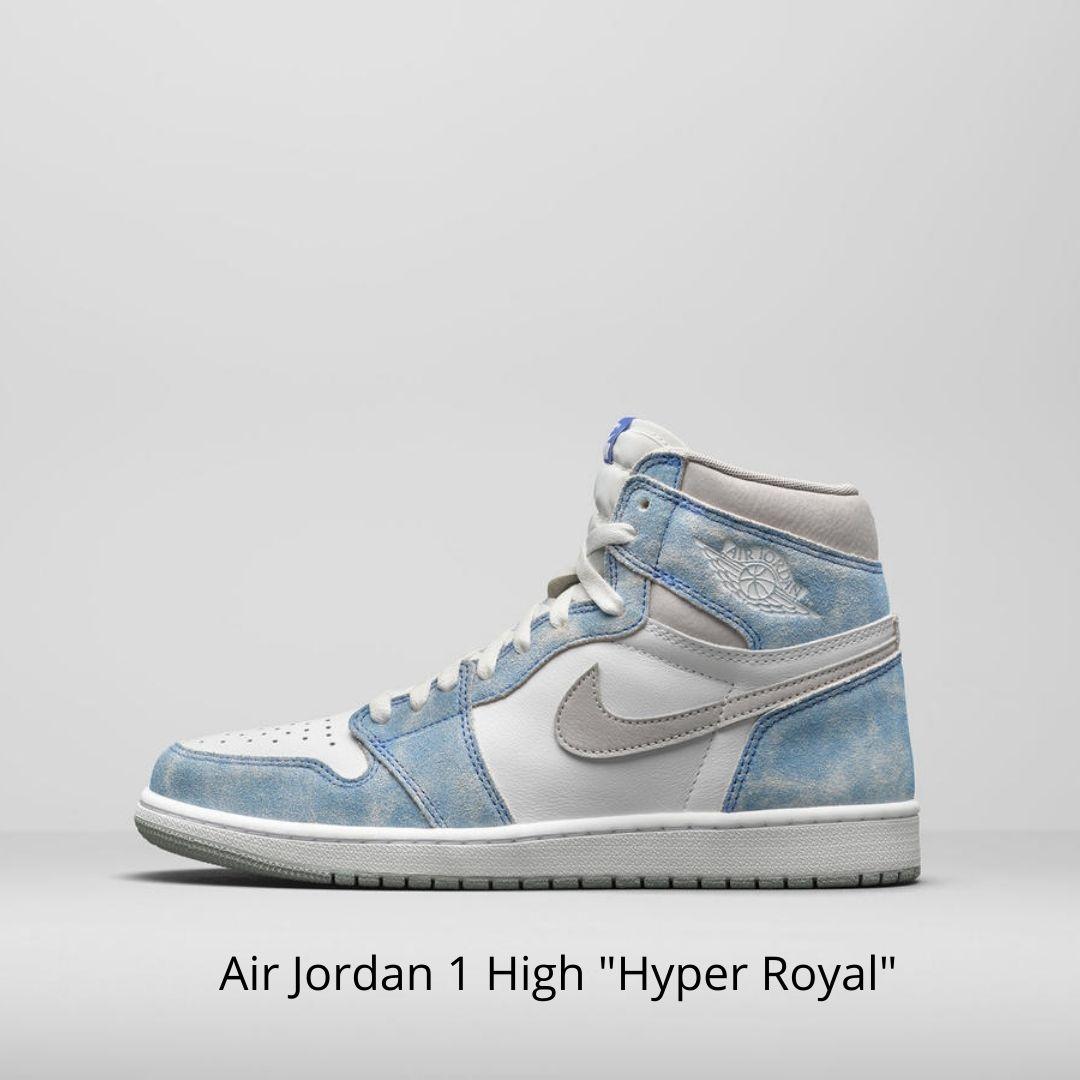 Air Jordan 1 High Hyper Royal