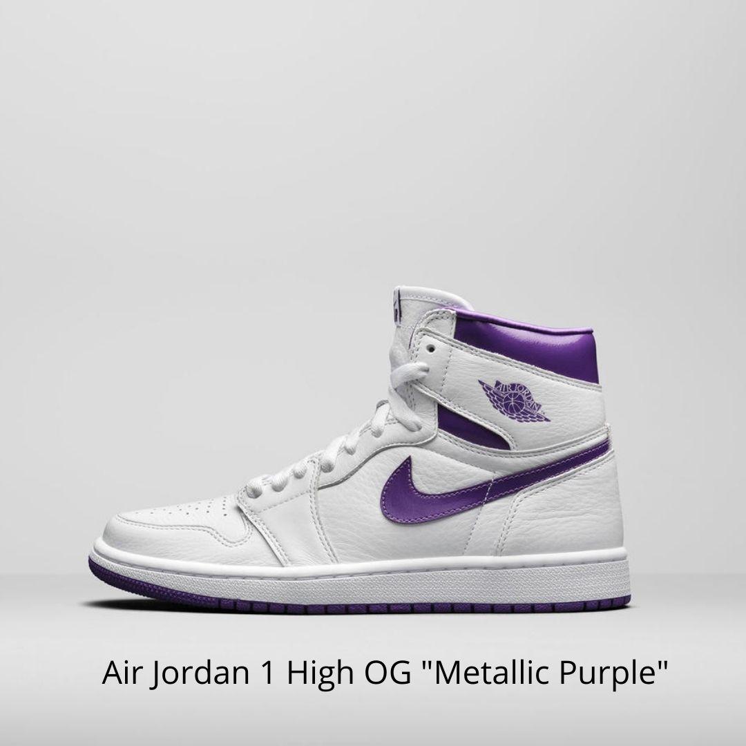 Air Jordan 1 High OG Metallic Purple