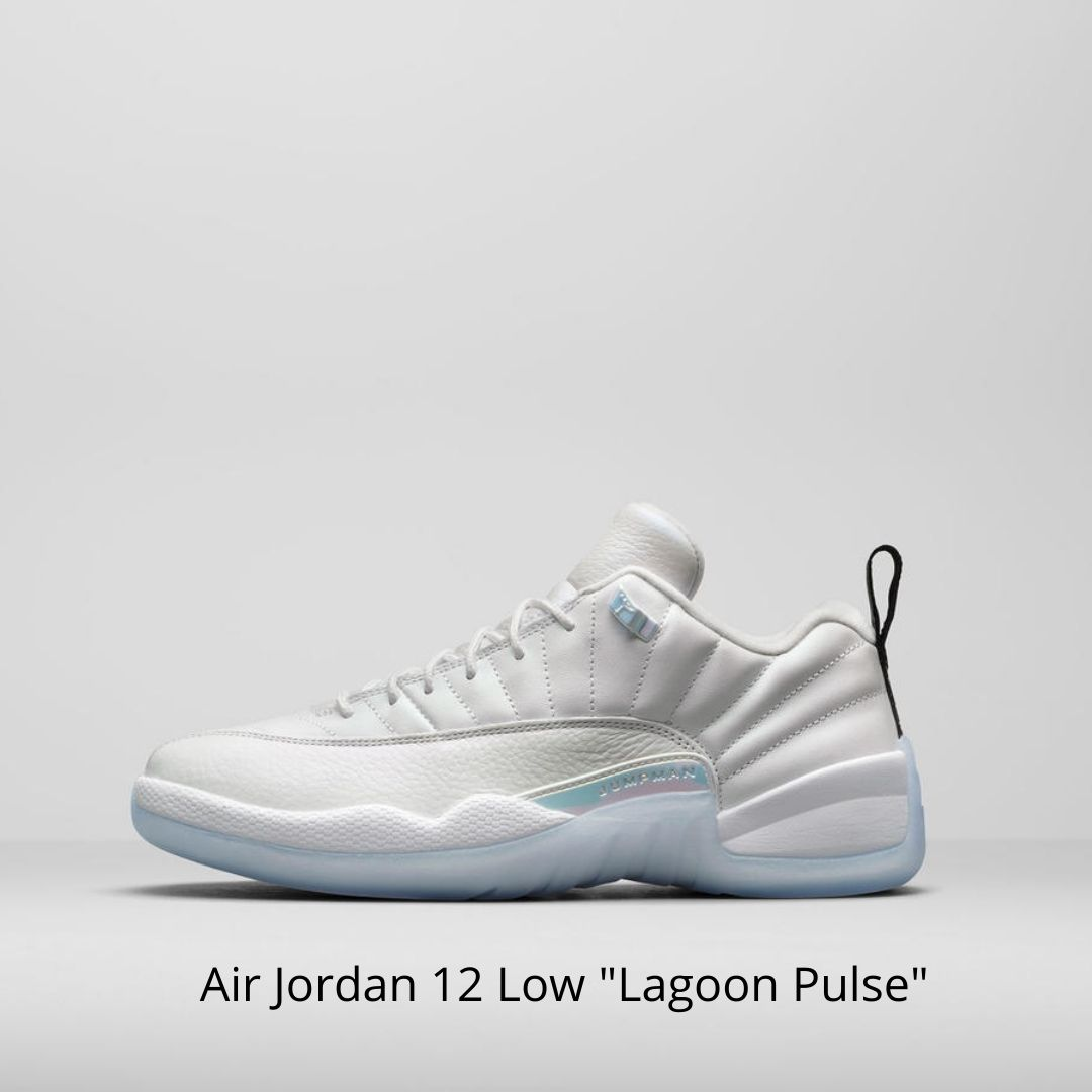 Air Jordan 12 Low Lagoon Pulse