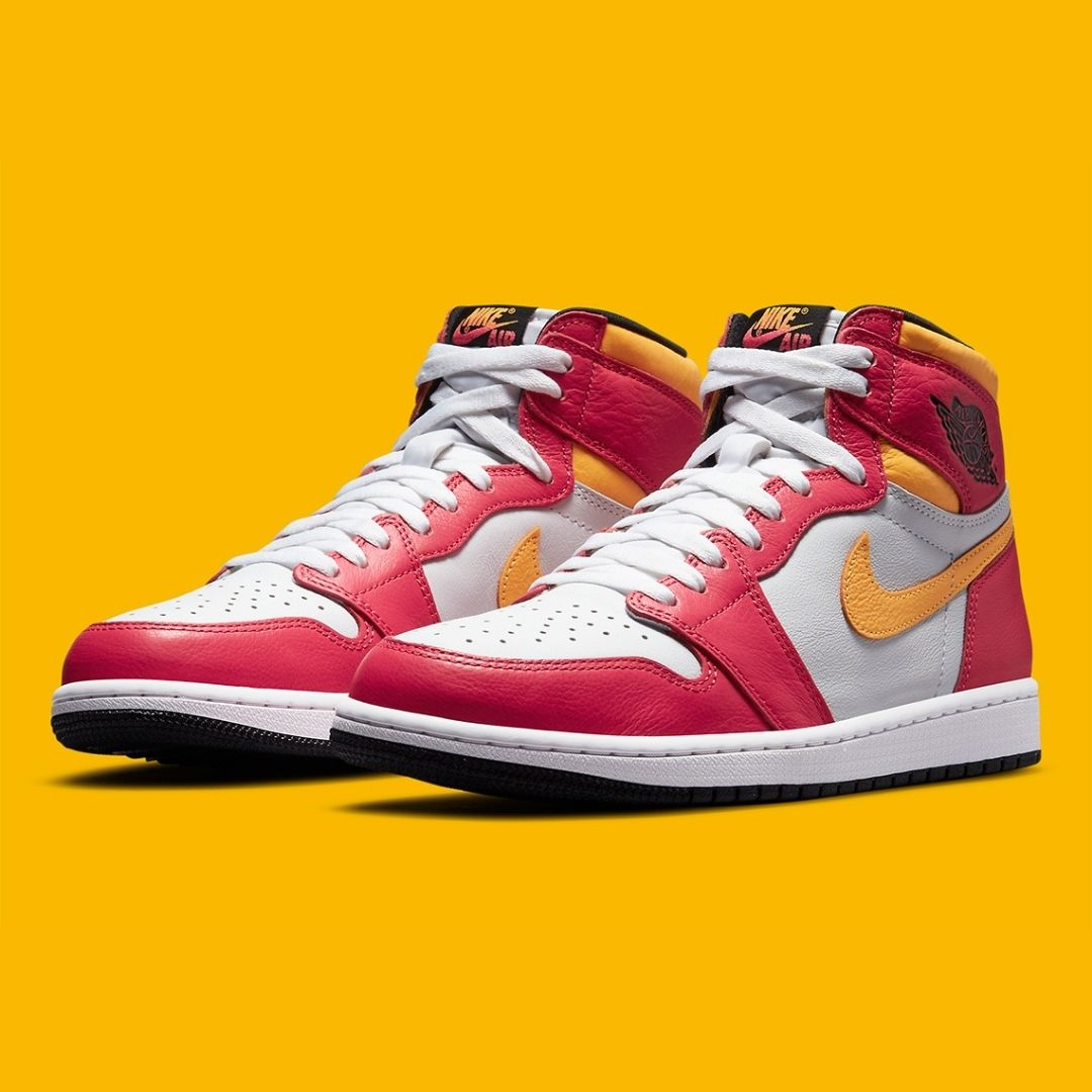 "Nike Air Jordan 1 ""Light Fusion Red"""
