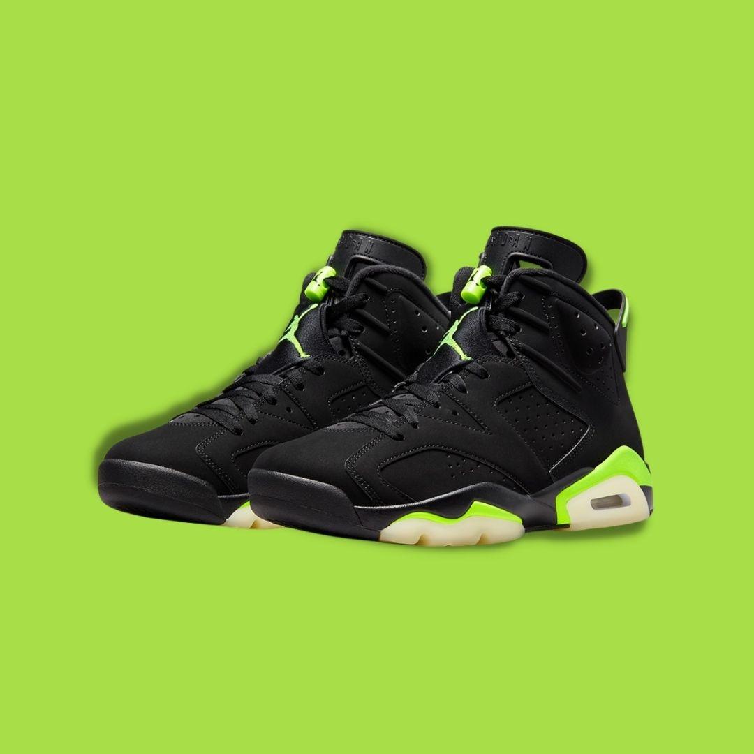 """Nike Air Jordan 6 """"Electric Green""""-2"""