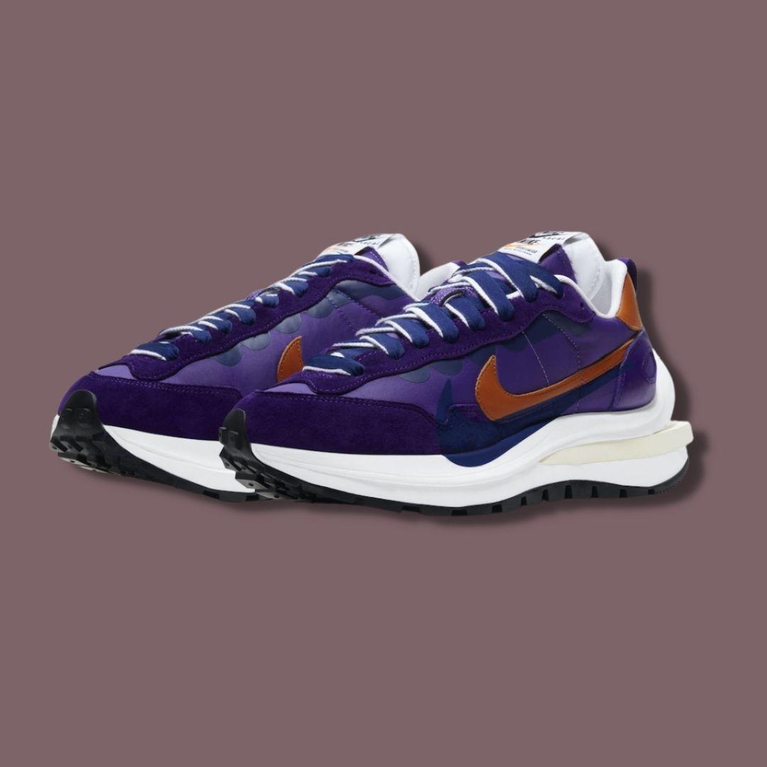 Sacai x Nike VaporWaffle 'Dark Iris'-2