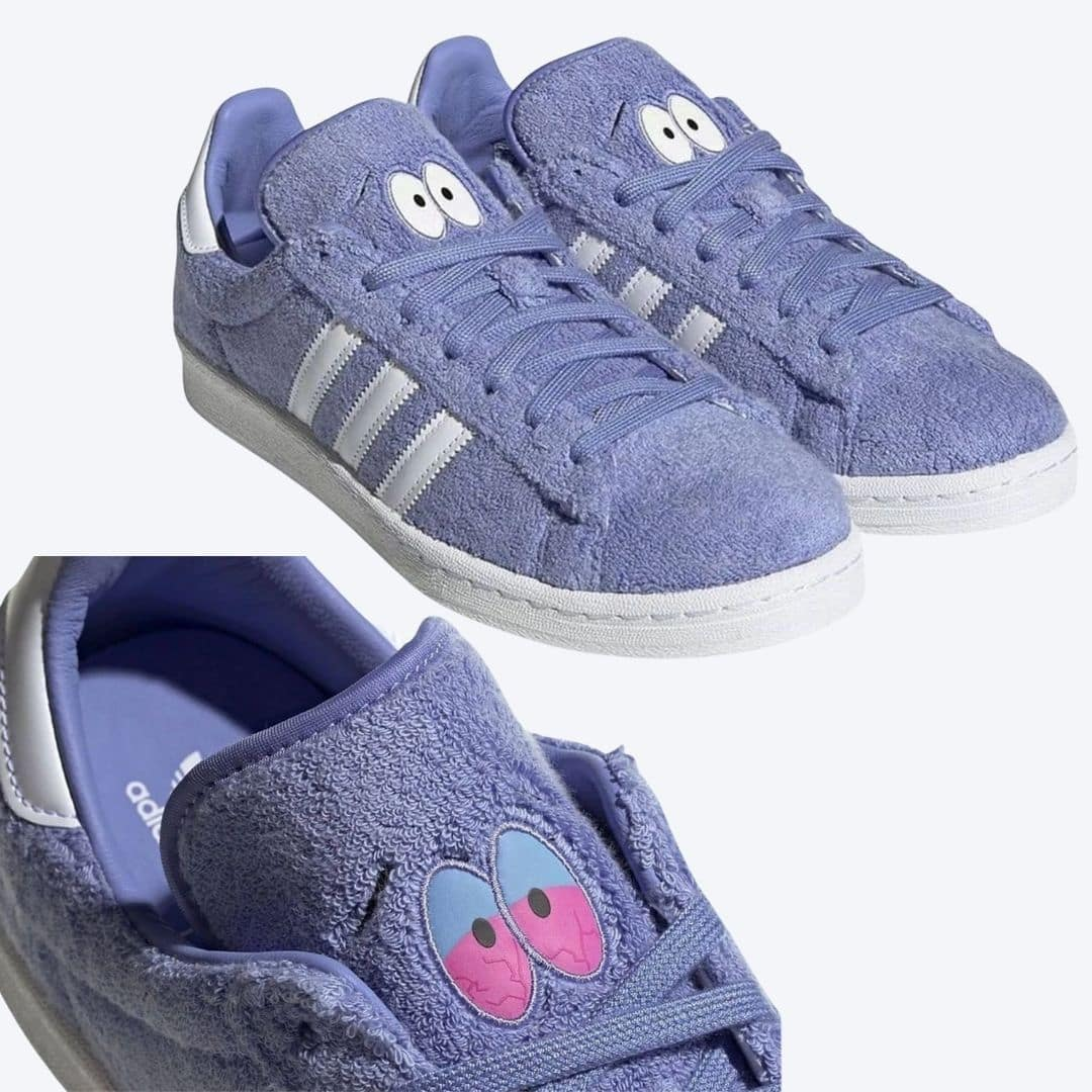 "The South Park x adidas Campus 80s ""Towelie"""