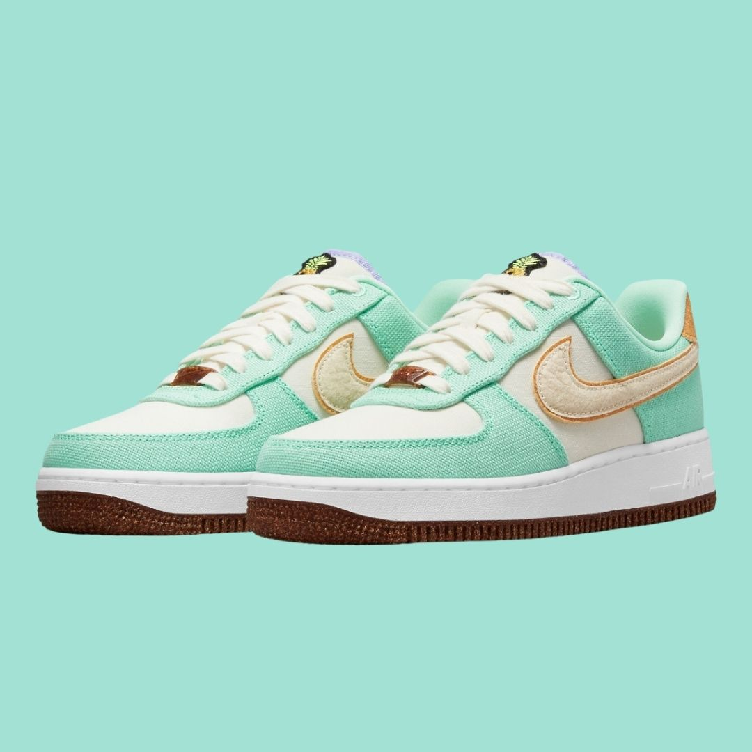 Air Force 1 Happy Pineapple Green Glow-2