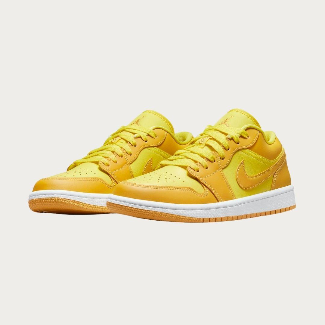 Air Jordan 1 Low Yellow Gold-2