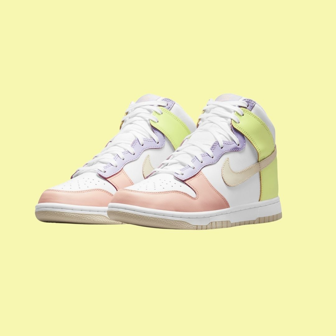 Nike Dunk High Lemon Twist-2
