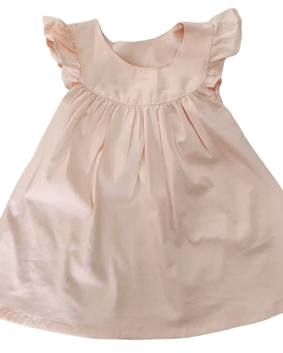 100% cotton best quality baby girl frock