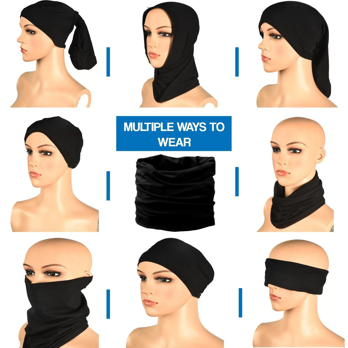 Bandana MULTIPLE WAYS TO WEAR