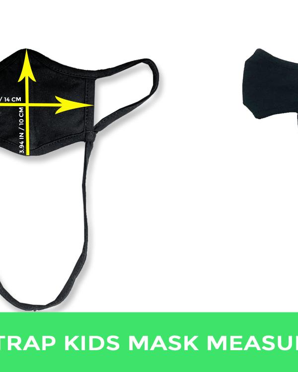 Neck strap kids mask measurement