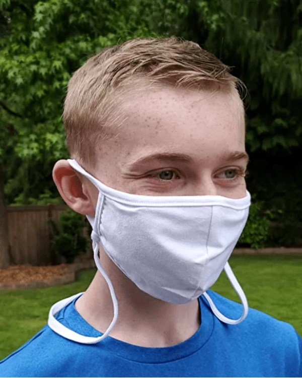 Neck Strap Mask For Kids
