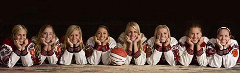 SHS Girls Basketball Team 2009