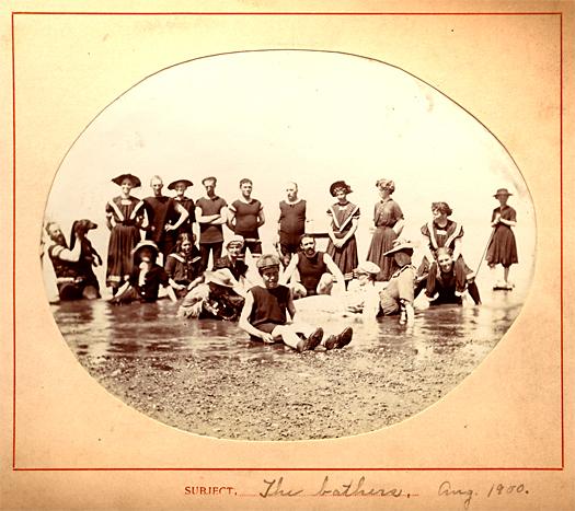 """""""The Bathers, 1900"""" Ferguson Family Album"""