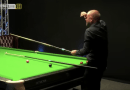 Mark Selby, Barry Hawkins and referee left in tears of laughter