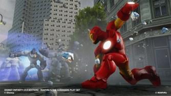 Marvel Avengers in der Disney Infinity Toybox