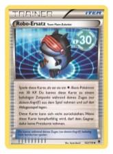 Trainer-Karte Team Flare Zubehör: Robo-Ersatz