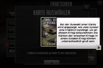 Fraktionskriege in TWD Road to Survival