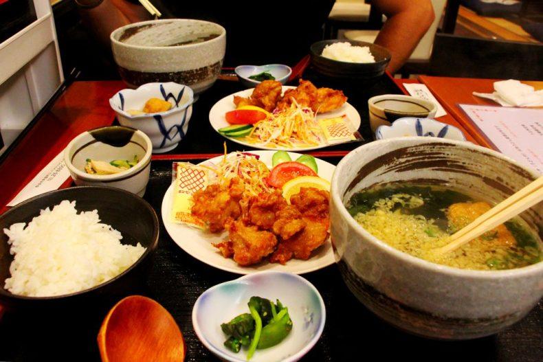 Déjeuner à Nara