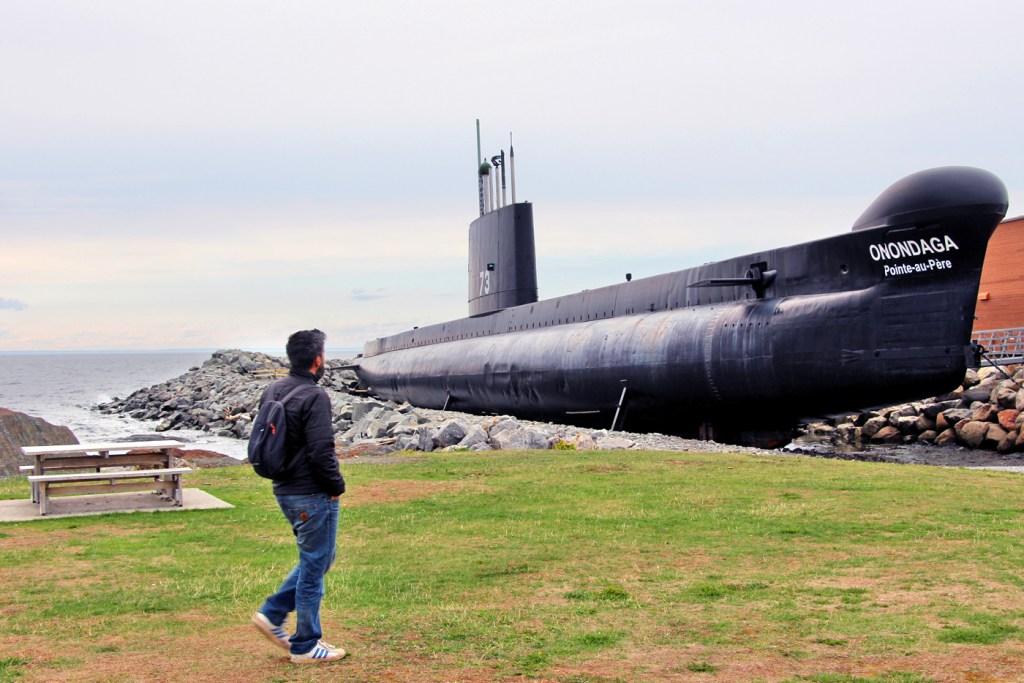 Sous-marin l'Onondaga, Rimouski, Québec, Canada