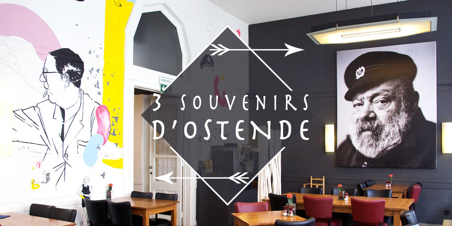 Belgique Ostende souvenir