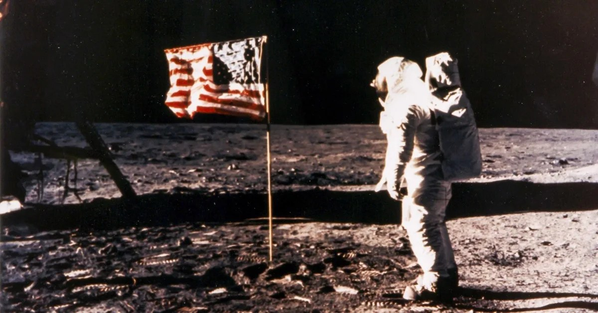 Is This an Outtake from the Apollo 11 Moon Landing
